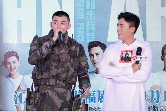 《维和步兵营》不负蓝盔生死情 刘润南帅气献艺