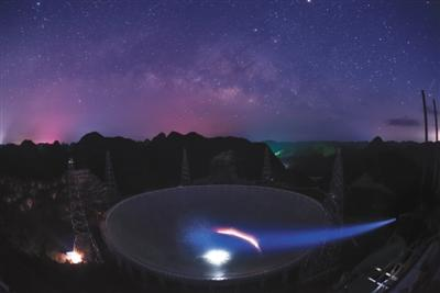 """""""中国天眼""""首次发现多颗脉冲星 有助发展星际导航"""