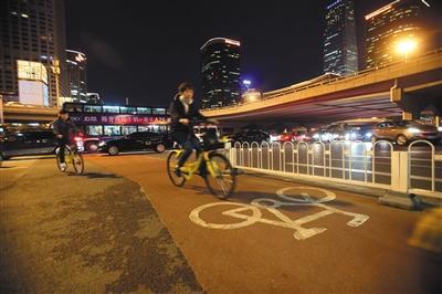 北京首条自行车高速路明年开建 连通天通苑至中关村