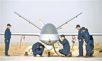 空军某部官兵创新驱动 填补无人作战多项空白