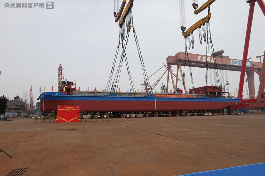 充电2小时续航80公里 广东建世界首艘千吨级纯电动船