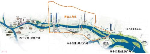 """广州""""一线江景""""不再建高楼 缩短人行过街距离"""
