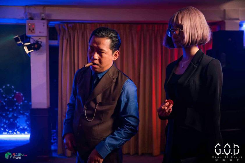 罗康与杨树鹏三度合作 新网剧正在泰国拍摄