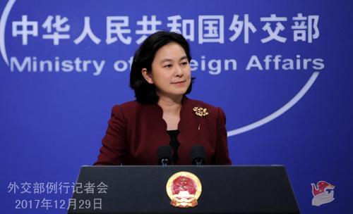 澳门mg电子游艺:美方称对中国允许石油进入朝鲜感失望_外交部回应