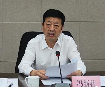 """陕西副省长冯新柱成新年""""首虎"""" 曾自称性格急躁"""