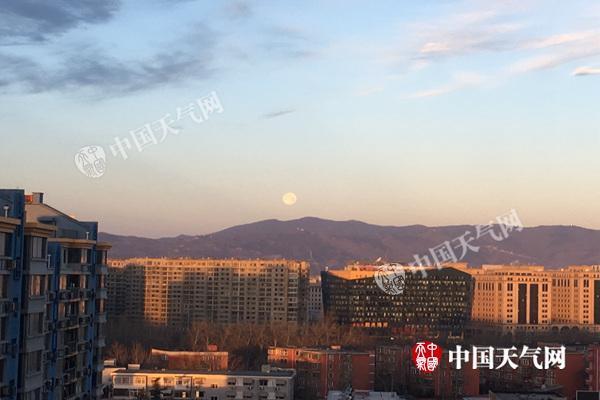 4日北京全天气温处于冰点以下 最低温为-8℃