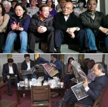 民进党选前选后两张脸 网友批傲慢嘴脸令人作呕