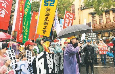 劳工搏命抗议舆论大张挞伐 民进党遭遇最大政治危机