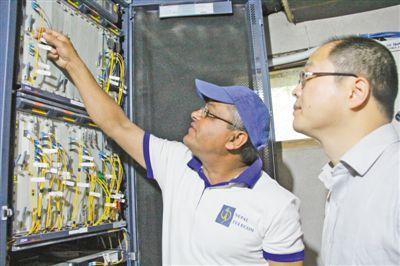 历经三年半,克服雪灾 中尼跨境互联网光缆正式开通
