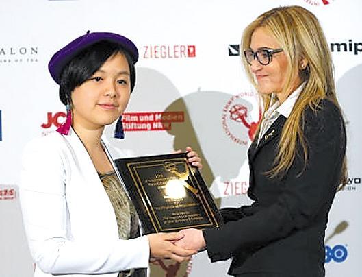 留美女生拍一分钟短片揭示南京大屠杀 获国际艾美奖