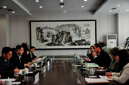 中法举行新一轮战略对话军控与防扩散分组会议