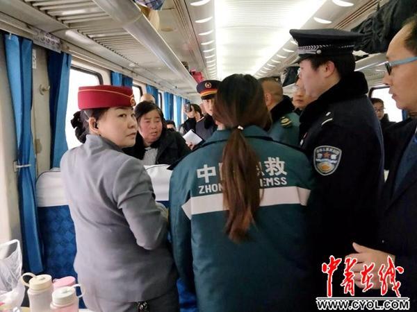 為救腦梗旅客列車提速早到48分鐘旅客已脫離危險