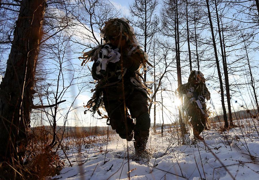 国防部发言人:向为国戍边的边防军人致敬