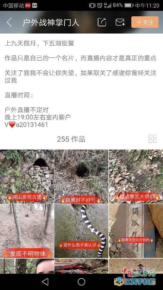 江西男子网络直播猎杀野生动物 警方:已被刑拘