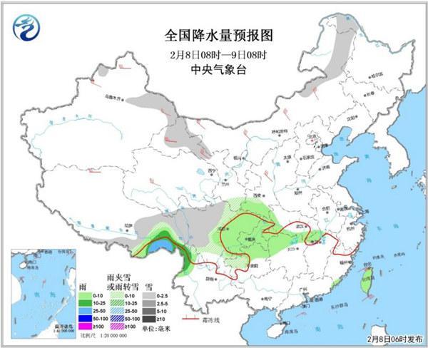 中东部短暂升温 周末迎冷空气局地降【10℃】
