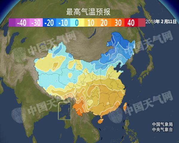 下周全国回暖 除夕前江南最高温达20℃