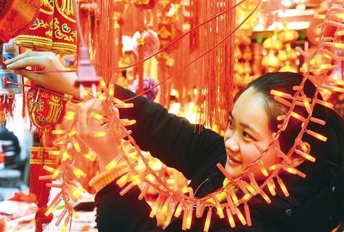 春节消耗红红火火民乐奏响中国风 网购年货成潮流