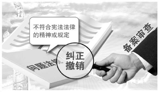 电子游艺澳门娱乐场:向权力任性亮剑_备案审查取得突破性进展