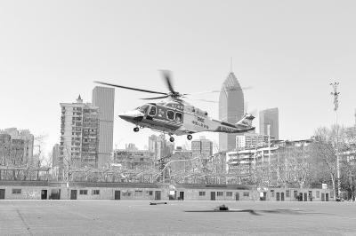 湖北恩施6岁男童突发呼吸衰竭 直升机运武汉抢救