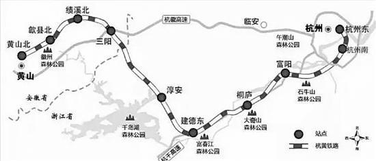 澳门线上赌博:杭黄铁路铺轨贯通_一个半小时到黄山