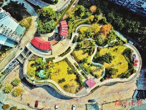 """园林流水 """"空中花园""""成福州市民""""高端""""福利"""
