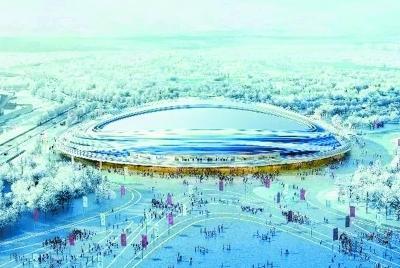 水立方变身冰立方 厉害了北京冬奥场馆