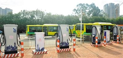 广州力争9月底前万辆纯电动公交上路