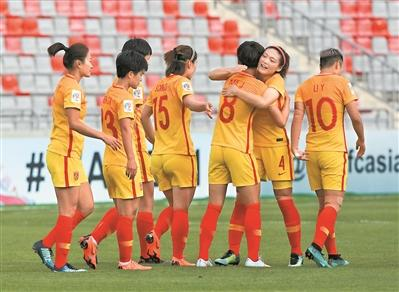 3比0击败菲律宾 世界杯向中国女足招手