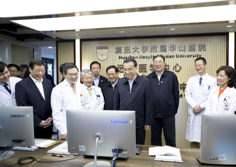 李克强在上海考察健康养生常识