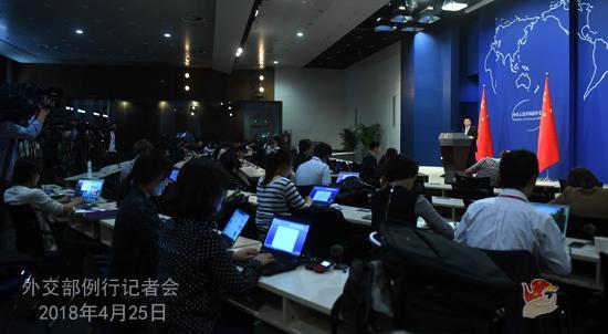 电子游艺澳门娱乐场:外交部:欢迎美方来访就经贸问题进行磋商