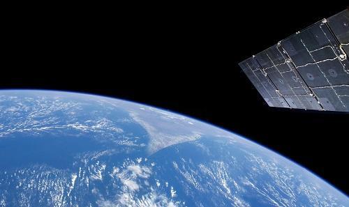 2018年1月22日,神舟六号任务航天员拍摄的画面。 新华社发