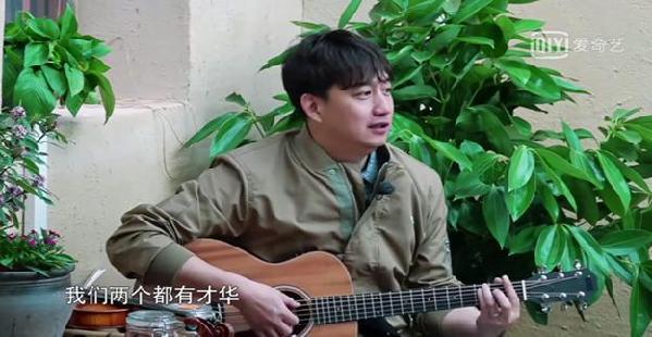 """黄磊、何炅唱响爱奇艺《向往的生活》新神曲""""油菜花"""""""