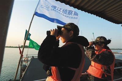 中国绿发会发布消息称发现白�D豚 专家:仍需确认梁君诺 浮夸