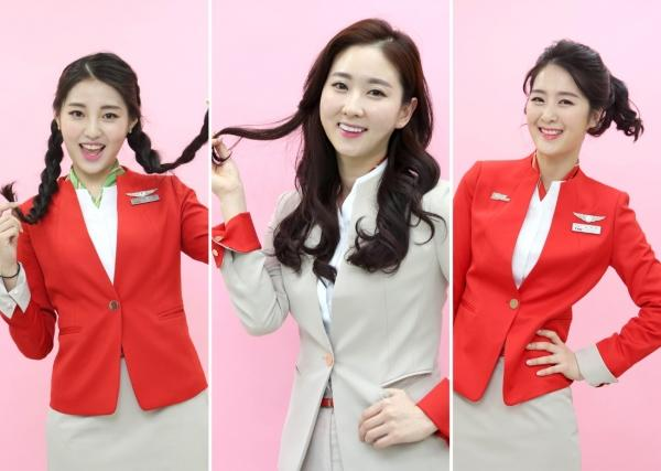 韩国一航空公司允许空姐烫染发 制服可选主题(图)趣多多兑换网站