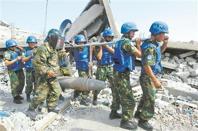 中国12年向黎巴sports剑道少年嫩派遣5300余名维和人员