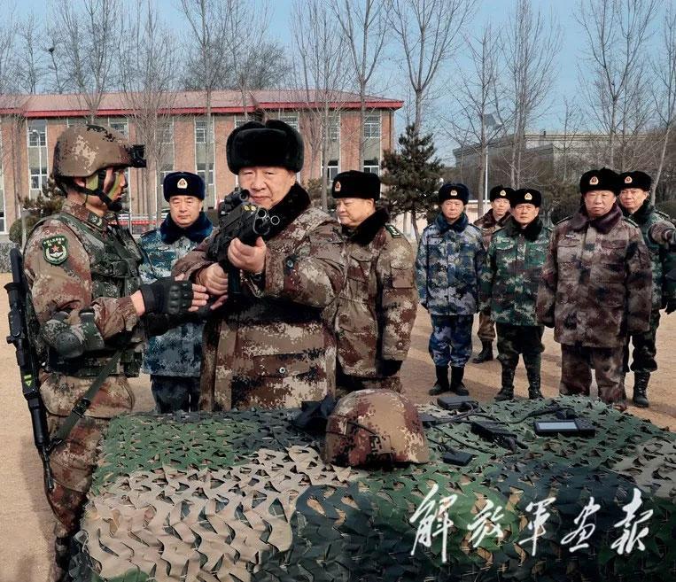 习主席体验过的兵工科技