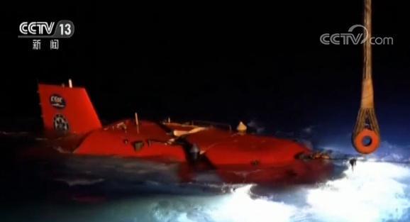 """全球罕见!""""深海勇士""""号实现24小时内连续两次下潜"""