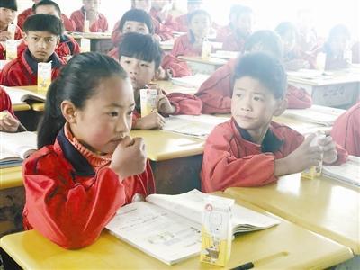 贵州贫困地区一村小提供早餐 学生增加一倍泡泡战士辅助