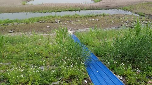 农家乐成污染监管盲区:前门生态农庄 后门污水直排