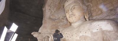 "3D打印复制山西大同云冈石窟:为了千年容颜""永驻"""