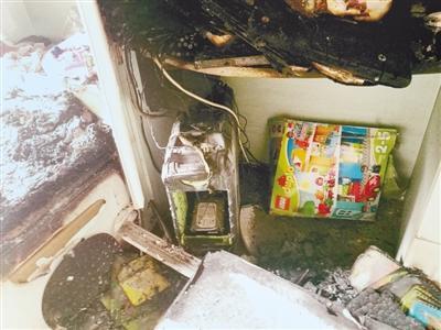 28楼失火 母女靠湿毛巾浓烟中自救半小时等来救援