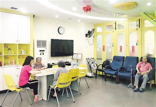 """探索社區養老服務新路 廣州構建""""大配餐""""服務"""