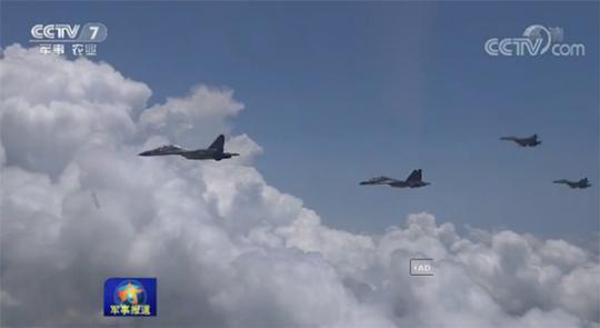 空军航空兵某旅驻守南海