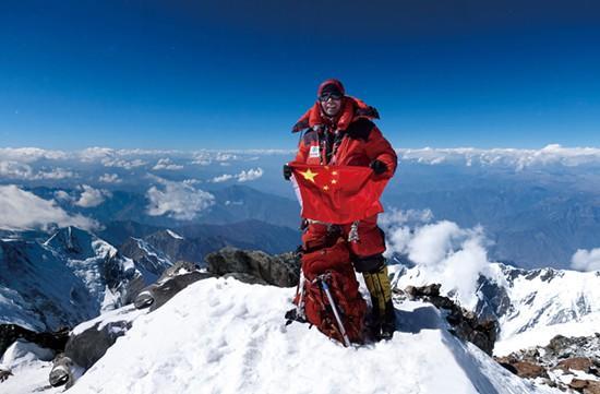 记中国登山者张梁:改写中国人登山探险历史(图)