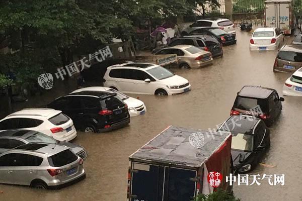 华北高温烧至7月 长江中下游地区暴雨再起