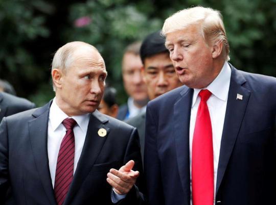 """俄政府否认""""干预美国选举"""",博尔顿:特朗普将继续敦促普京表态愤青孝庄"""