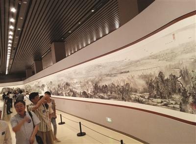 长江有多美,看看这张巨幅长卷