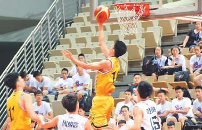 2018海峡杯青年篮球邀请赛开赛