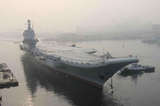 专家:国产航母海试已大大提前 有提前服