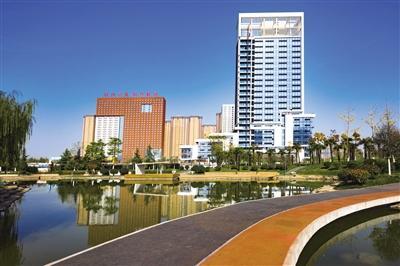 西安高新区软件新城备受瞩目
